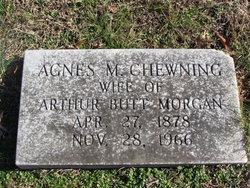 Agnes M. <I>Chewning</I> Morgan