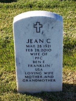 Jean C Franklin