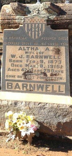 Altha A. Barnwell