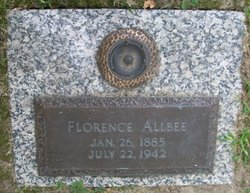 Florence A. <I>Young</I> Allbee