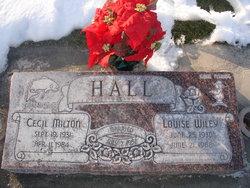 "Cecil Milton ""Red"" Hall"
