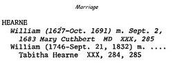 Mary <I>Cuthbert</I> Hearne