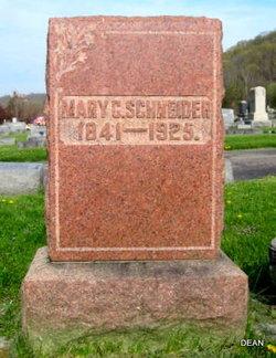 Mary G. <I>Ochs</I> Schneider