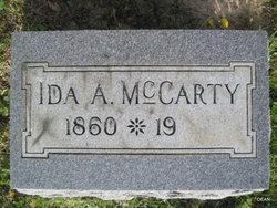 Ida A. McCarty