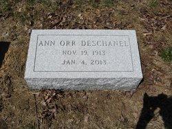 Ann <I>Orr</I> Deschanel