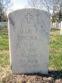 Mary F Sikora