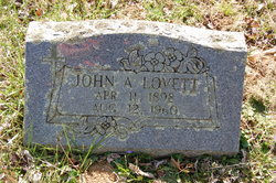 John A. Lovett