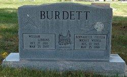 Bernadette <I>Wedell</I> Burdett