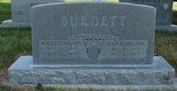 """Margaret """"Maggie"""" <I>Gibbons</I> Burdett"""