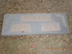 Carrie Essie <I>Musick</I> Morris
