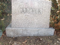 "Mary S ""Mamie"" <I>Sherwood</I> Archer"