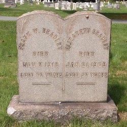 """Elizabeth """"Lizzie"""" <I>Keyser</I> Bradley"""