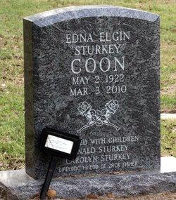 "Edna Elgin ""Sturkey"" Coon"