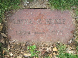 Letha Gladys <I>Dixon</I> Bierly