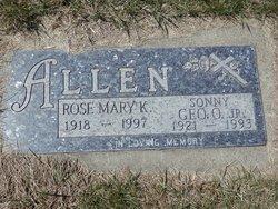 Rosemary Kay <I>Kopp</I> Allen