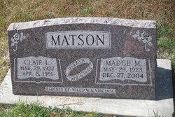 Madge M. <I>Still</I> Matson