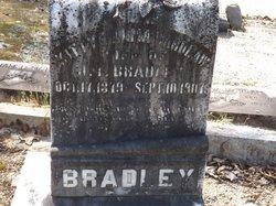 """Katrina Alma """"Kittie"""" <I>Wardlaw</I> Bradley"""