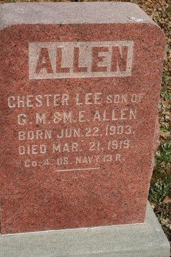 Chester Lee Allen