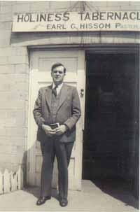 Rev Earl Gorman Hissom, Sr