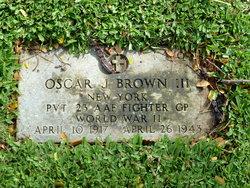 Pvt Oscar J Brown, III