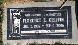 Florence Edna <I>Gray</I> Griffin