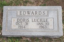 Doris Lucille <I>Hollenback</I> Edwards