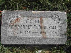 Margaret Mariah <I>White</I> Andersen