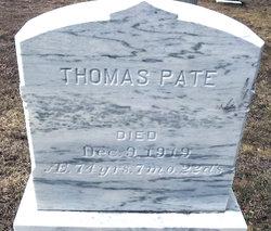 Thomas Pate