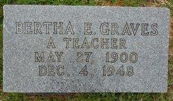 Bertha Elizabeth <I>Graves</I> Postlethweighte