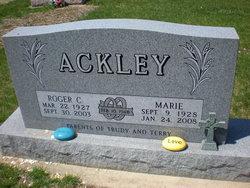 "Roger Castle ""Tuffy"" Ackley"