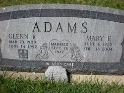 Mary E. <I>Miller</I> Adams