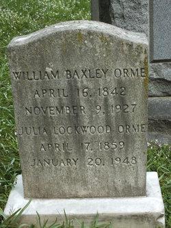 William Baxley Orme