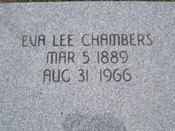 Eva Lee <I>Collins</I> Chambers