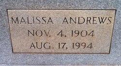 Malissa <I>Andrews</I> Moss