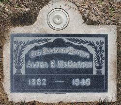 Altha <I>Neff</I> McGarvin
