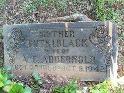 Ruth Irene <I>Black</I> Adderhold