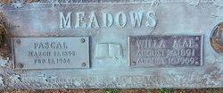 Willa Mae <I>Harvey</I> Meadows