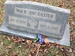 """William R """"Jim"""" Easter"""