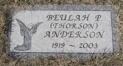 Beulah Pearl <I>Thorson</I> Anderson