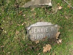 Jennie <I>Barckley</I> Broudy