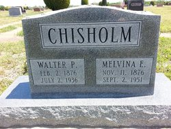 Melvina Elizabeth <I>McDaniel</I> Chisholm