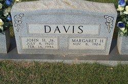 Margaret L. <I>Harvell</I> Davis