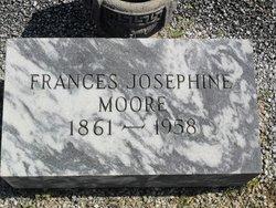 Frances Josephine <I>Hayes</I> Moore