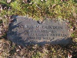 Lucius Merrill Gordon