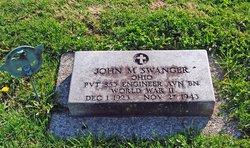 Pvt John M. Swanger
