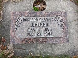 Barbara <I>Chadwick</I> Walker
