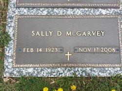 "Sarah Louise ""Sally"" <I>Daub</I> McGarvey"
