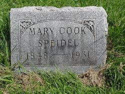 Mary Maria <I>Cook</I> Speidel