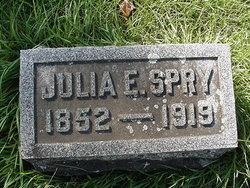 Julia Emma <I>Basye</I> Spry
