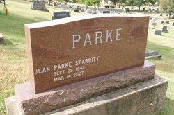 Jean Marie <I>Parke</I> Starritt